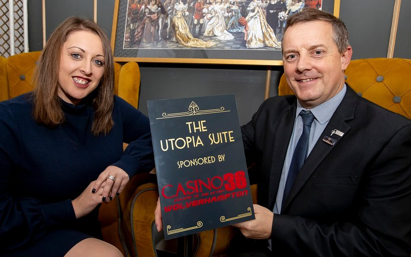 Casino 36 Sponsors the Utopia Suite at the Grand Theatre