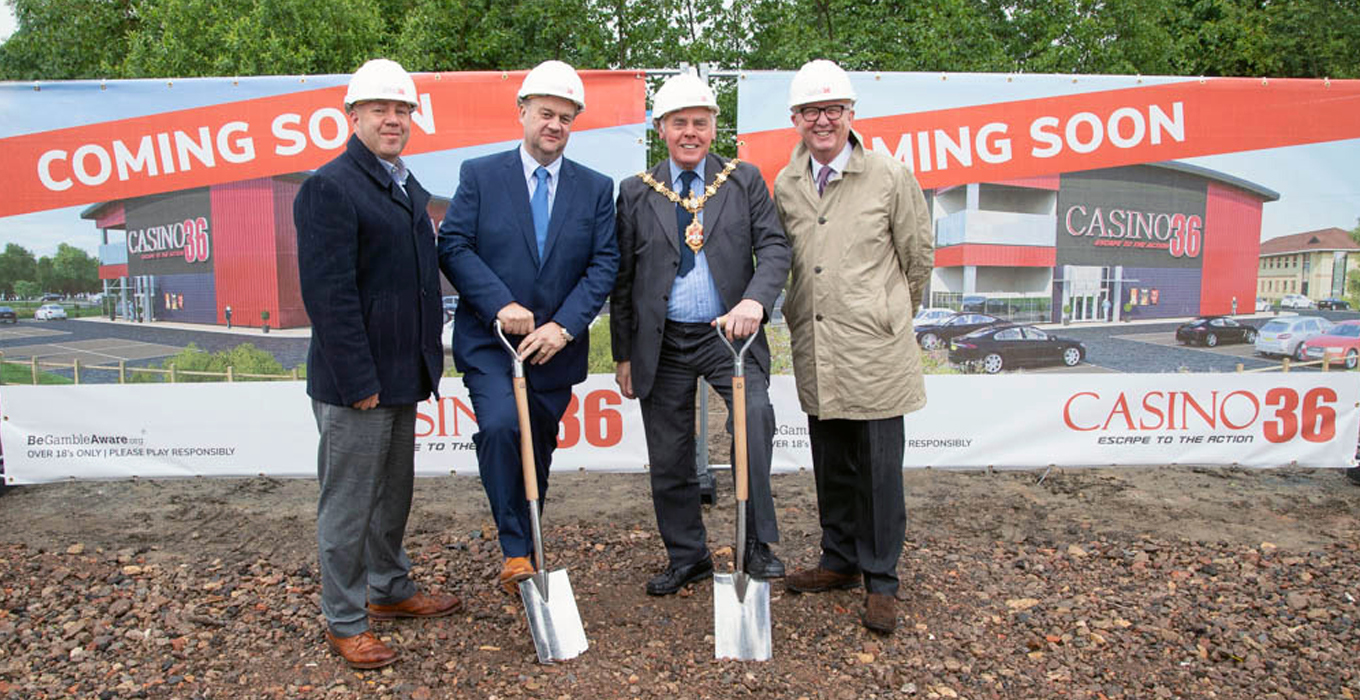 CASINO 36 STARTS NEW £12MILLION INVESTMENT IN DUDLEY.
