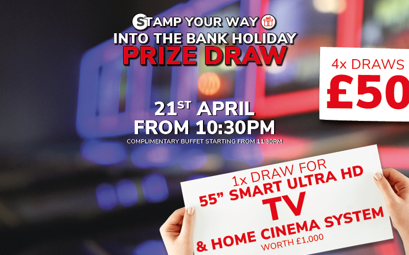 April Bank Holiday Prize Draw!