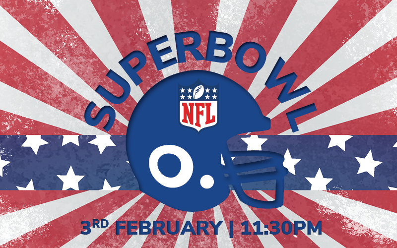 Watch the Superbowl Live at Casino 36!