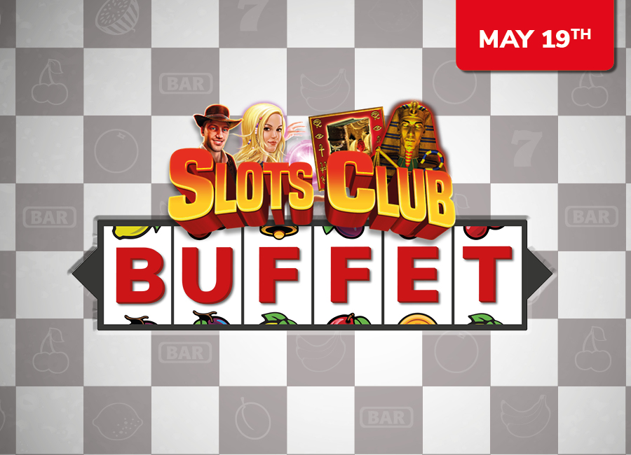 May Slots Club Buffet, Tournament & £10 Match Play