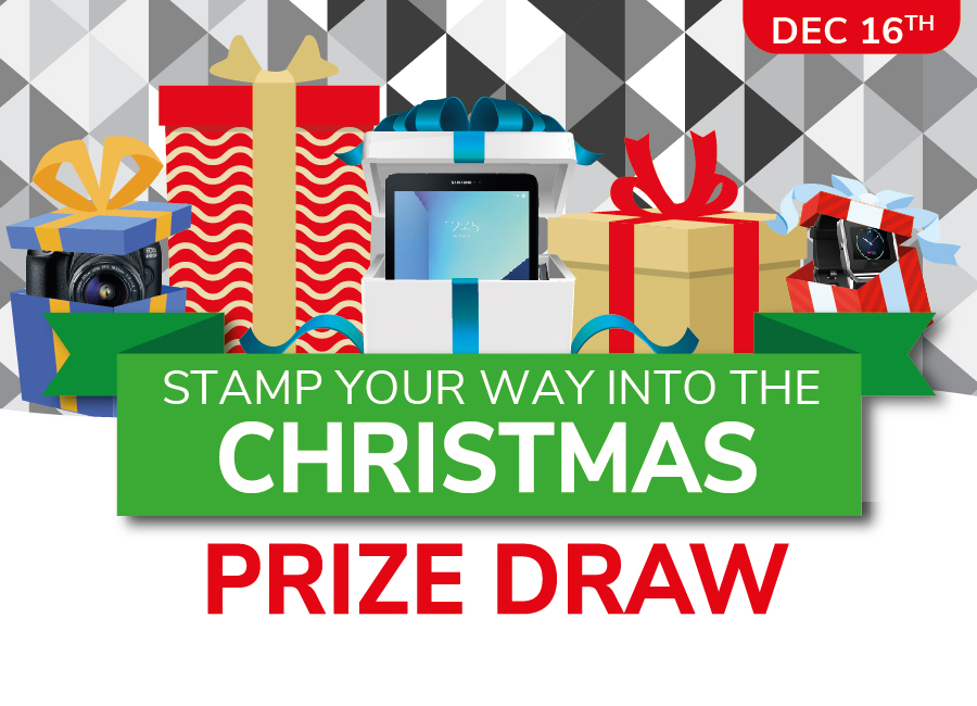 Christmas Prize Draw & Complimentary Buffet!