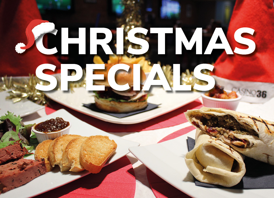 CHRISTMAS FOOD SPECIALS