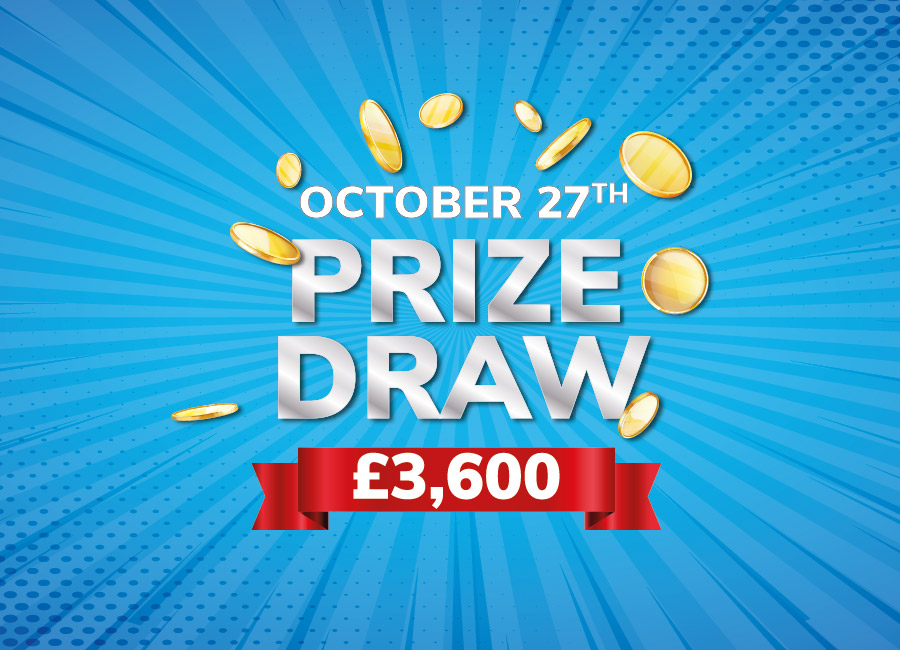 October PRIZE DRAW!