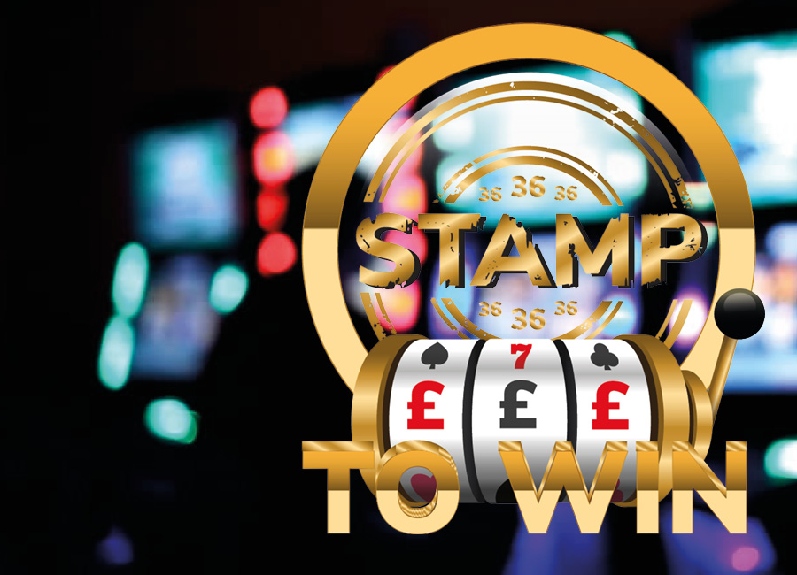 STAMP TO WIN UP TO £75 FREE PLAYS!