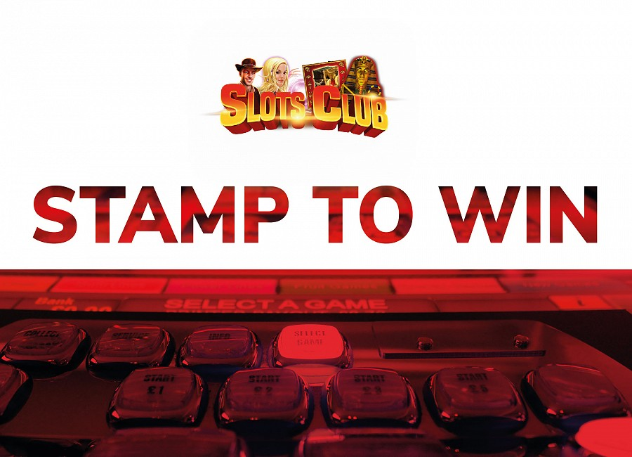 Slots Club Stamper Card