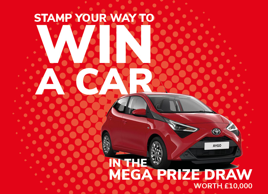 AUGUST BANK HOLIDAY MEGA PRIZE DRAW!