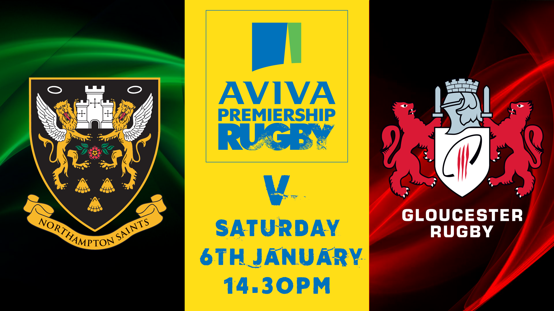 Northampton Saints V Gloucester Rugby Connor Dobson 2018 01 02T142822 0000