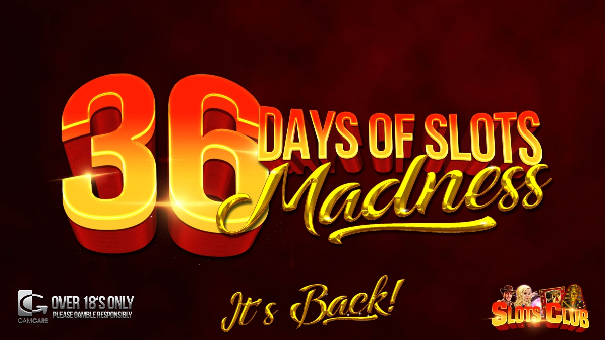 36 Days of Slots