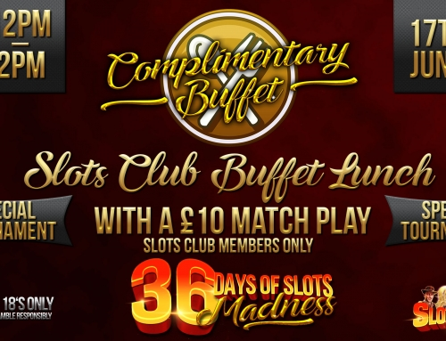 Slots Club Buffet (36 Days of Slots MADNESS)
