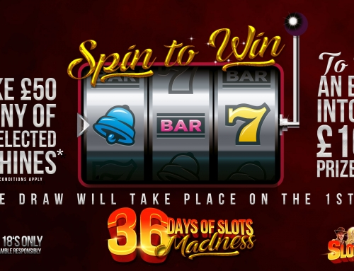 Spin to Win on our Slots